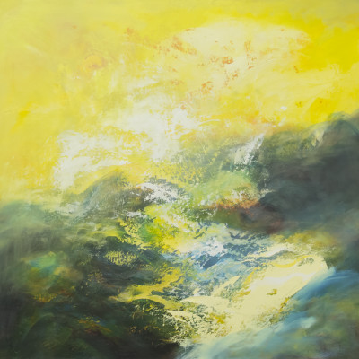 Breaking Of Dawn by Ursula O'Farrell, Oil On Panel 36 x 36 inches