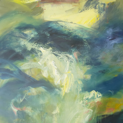 Emergence by Ursula O'Farrell, Oil On Canvas 60 x 48 inches