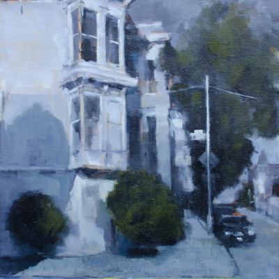 Haight and Lyon, Oil on canvas,