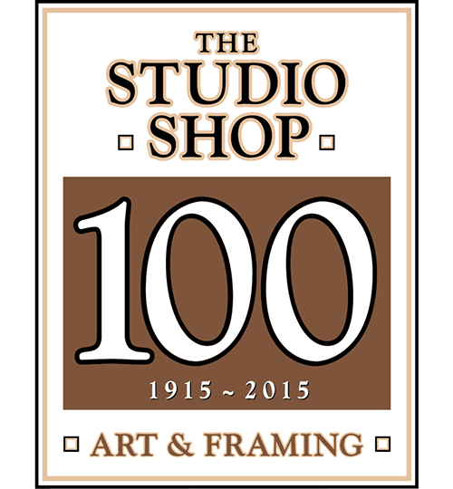 The Studio Shop 100 Year Logo