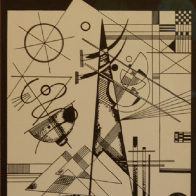 Wassily Kandinsky, Forme, 1930, Litho, 14 x 10 inches