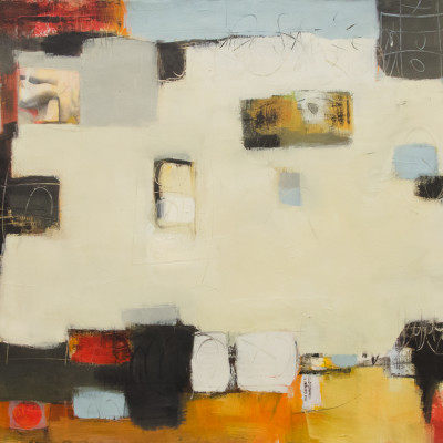 Loose Accord 4 by Kay Marshall, Painting On Paper 22 x 30 inches