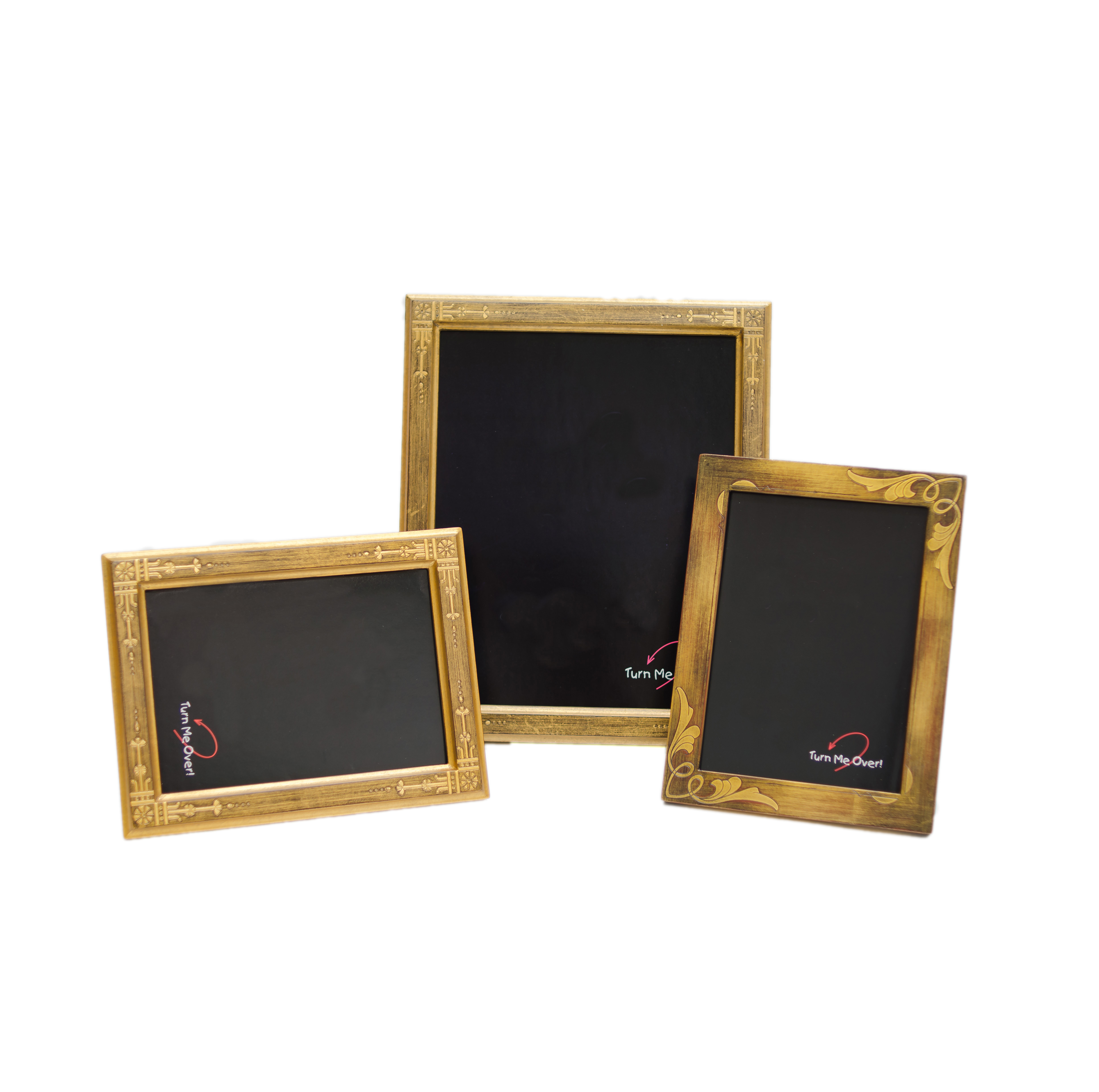 The studio shop photo frames photo frames from simple to museum quality carved wood decorated glass bike chain glitter leather and exquisite gold leaf frames too leather jeuxipadfo Images