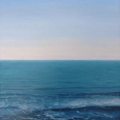 Pacific 7, Oil on linen, 30 x 30 inches