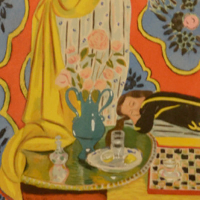 Henri Matisse, Harmony in Yellow, Litho, 11 x 8.5 inches