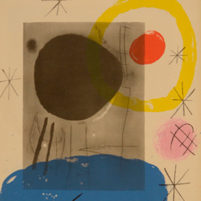 Joan Miro, DLM151, Litho, 15 x 11 inches