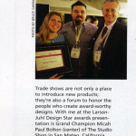 Micah Paul and Katrina Magowan of Studio Shop win picture frame contest.